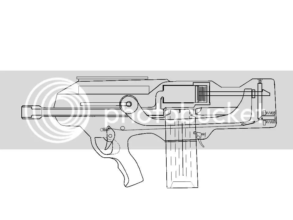 Nerf Gun Diagram, Nerf, Free Engine Image For User Manual