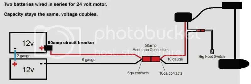 big foot trolling motor switch wiring