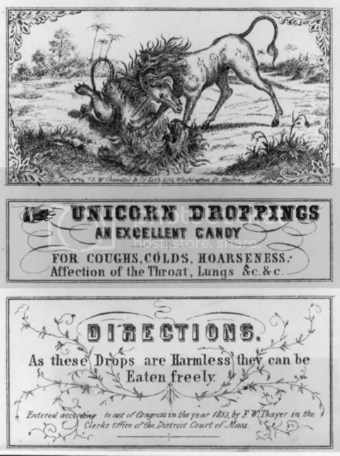 Unicorn Droppings
