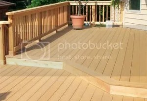 How to make old deck match new pool