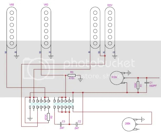 wiring options for hss strat the gear page - micro switch wiring diagram hss  pickups