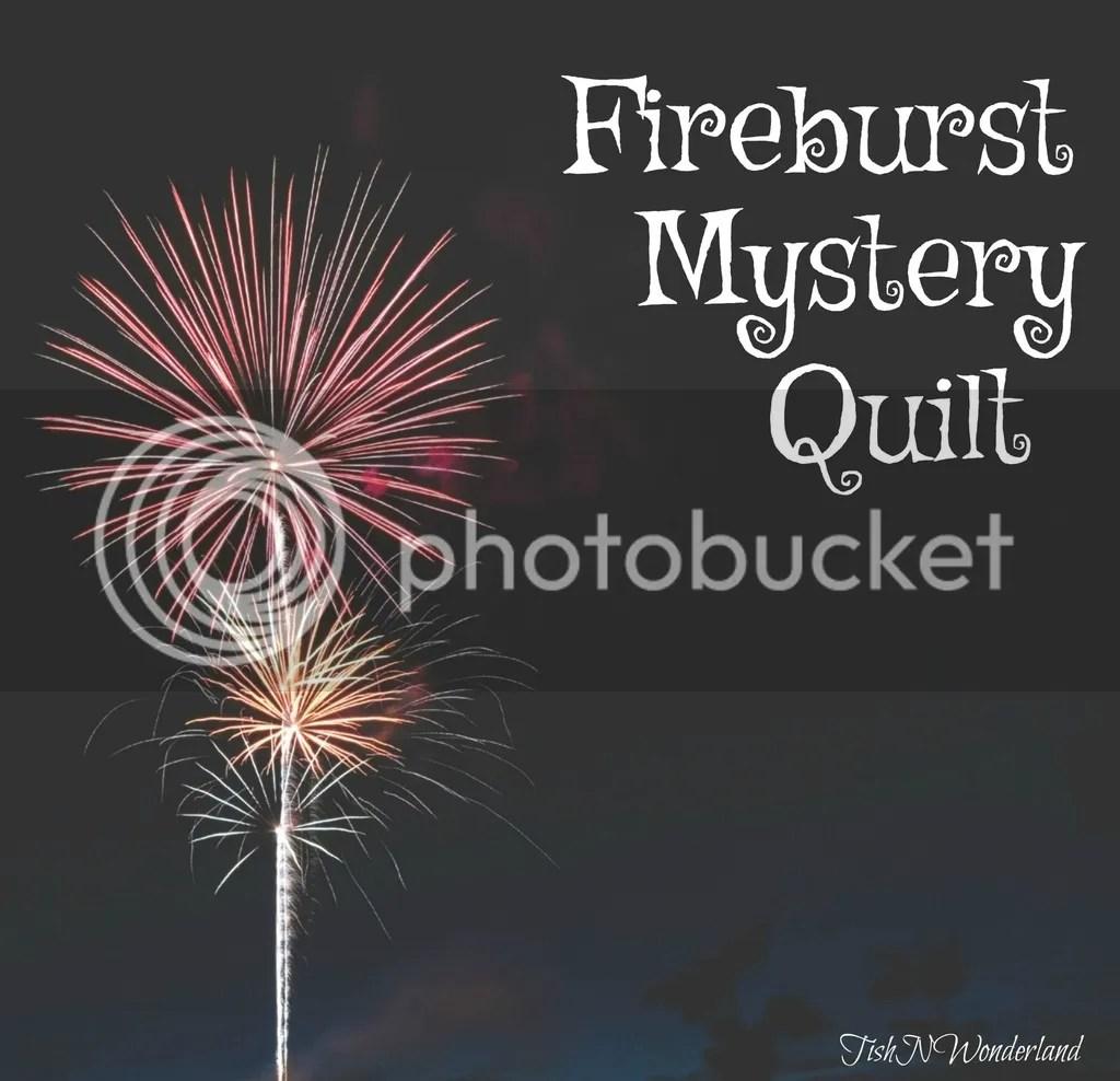 Fire Burst Mystery Quilt