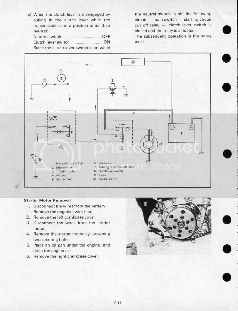 Wiring Diagram For Yamaha Sr250