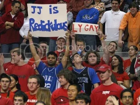 Terp fans prove they are funnier than Dook Dorks