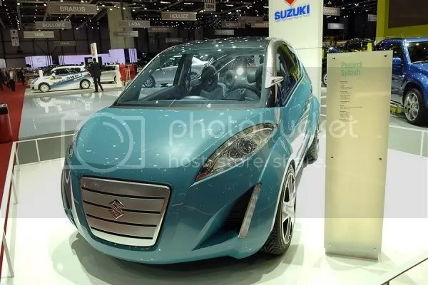 Suzuki Splash Concept.