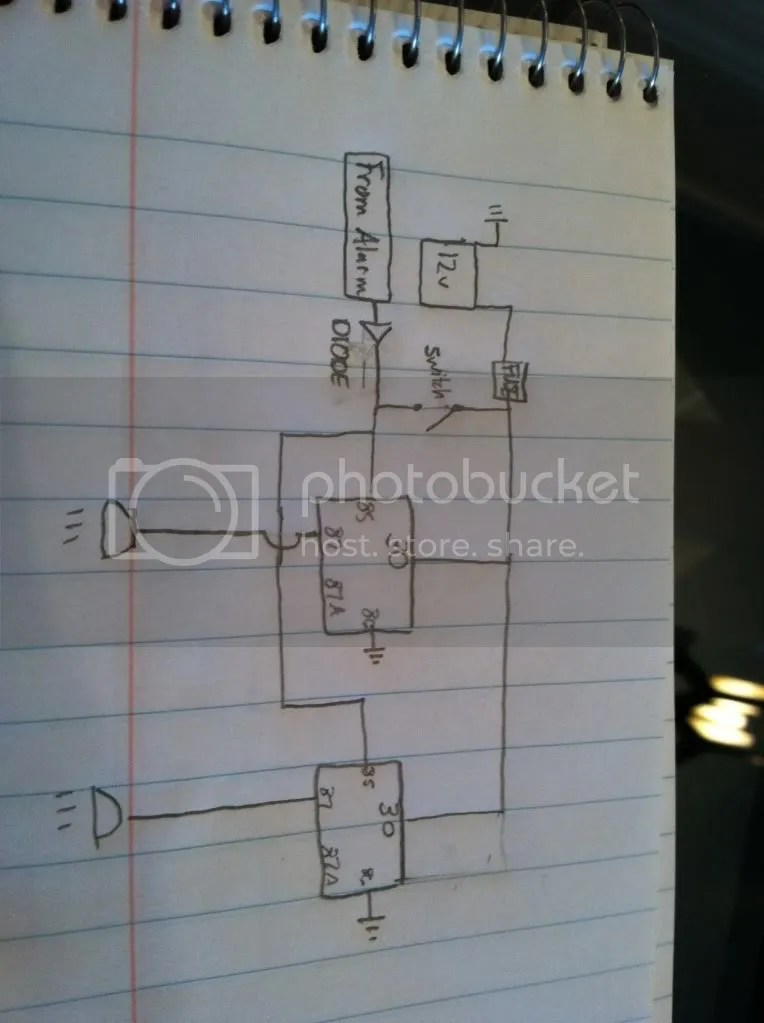 Honda 2000 Alarm Wiring Diagram