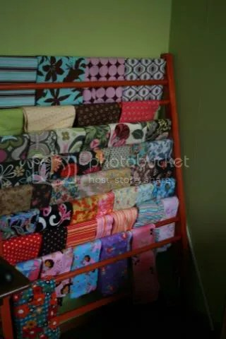 Fabric Display Rack