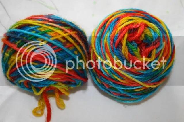 rainboow wool
