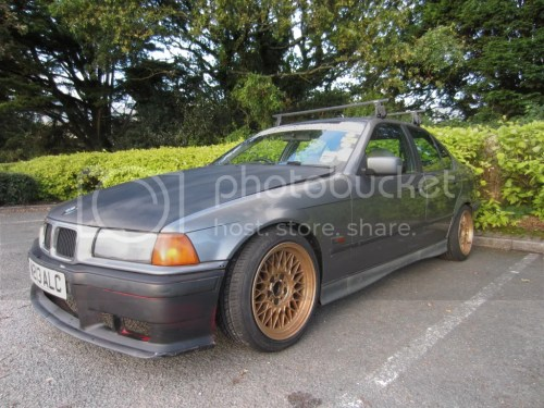 small resolution of bmw e36 325 daily drift car