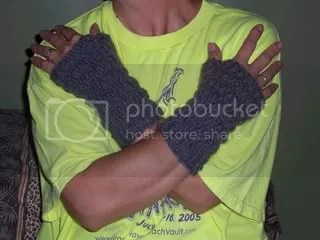 Ally's rippled Mitts
