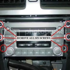 2002 Subaru Impreza Radio Wiring Diagram Ford Windstar Fuse How To Install And Remove Stereo 2005 Wrx Nasioc The 6 Screws Retaining Factory Support So It Does Not Come Crashing Down Shouldn T But I Ve Seen Too Many Things That
