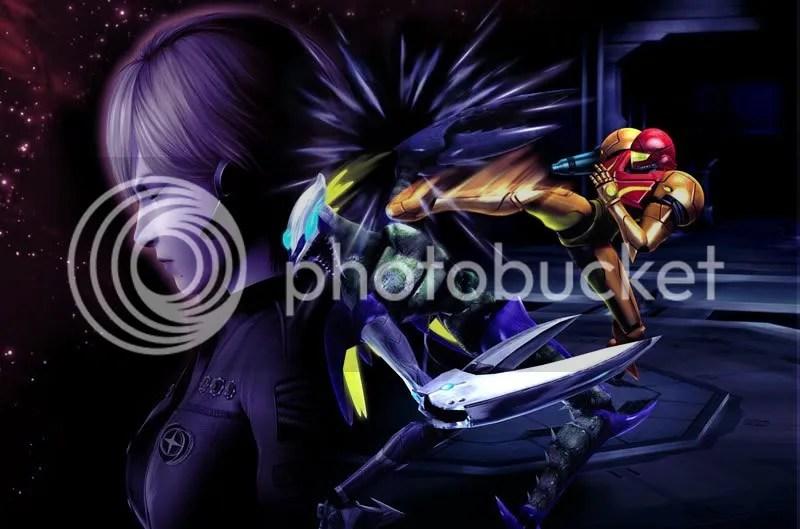 Metroid: Wrestling Anime Edition