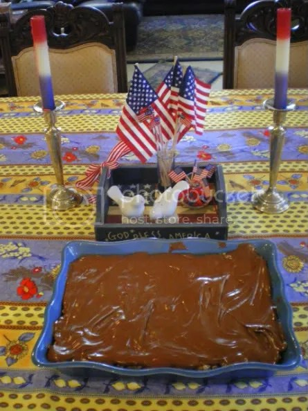 Foodie Friday ~ Peanut Butter Rice Krispie Bars with Chocolate/Butterscotch Topping (1/6)