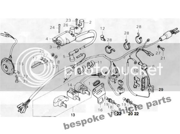 Sell Honda gas fuel tank cg125 cg 250 w petcock & pair