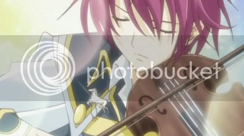 Kyoushiro + His Violin = Hot.