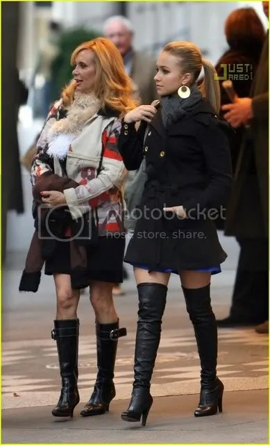 Haydeb Panettier thigh high boots