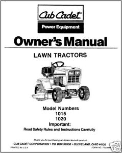 Cub-Cadet-Owners-Manual-Model-No-1015-1020