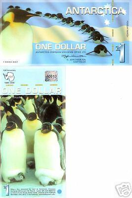 Antarctica 1 Dollar Bank Note