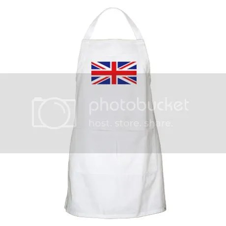 UK Union Jack Apron on CafePress