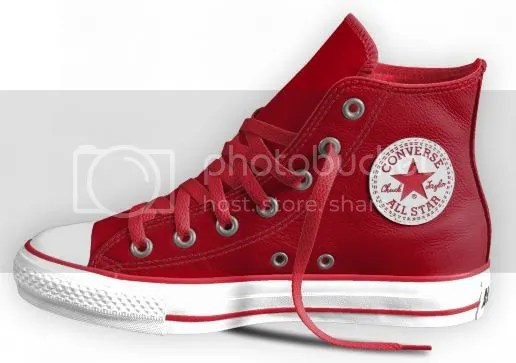 DIY Design It Yourself Red Shoes Sneakers