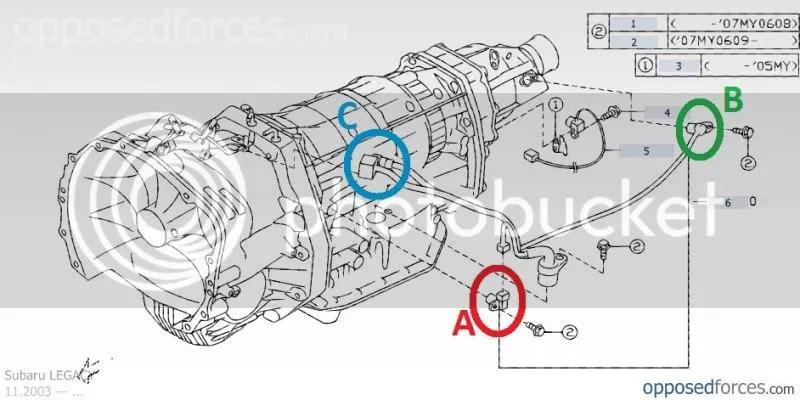 WTB: (Want to Buy) 2005 5EAT Transmission turbine speed