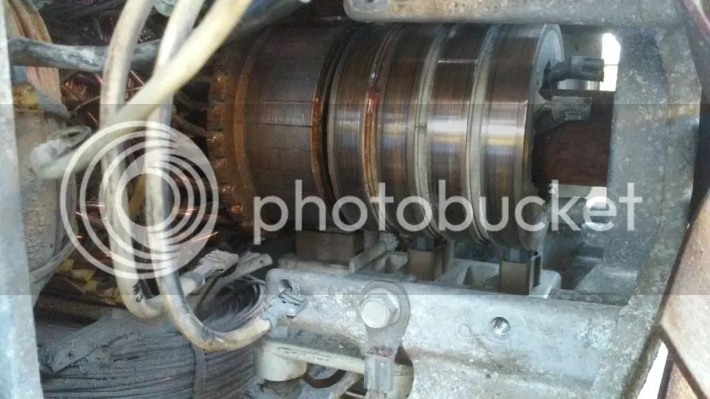 Generator slip ring cleaning/carbon brush maintenance, a