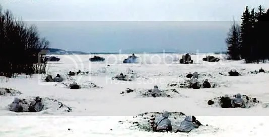 The tank ambush from Stalingrad