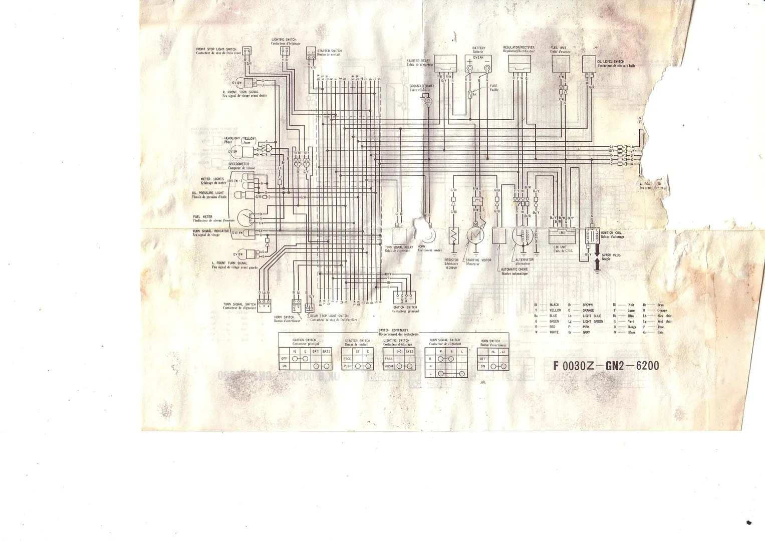 1986 Honda Spree Wiring Diagram Oil Light Test At Power On Honda Spree And Elite 50 Forums
