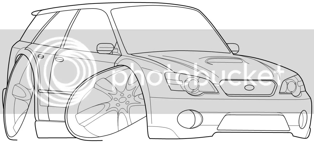 Subaru Impreza Wrx Wagon Coloring Page Coloring Pages