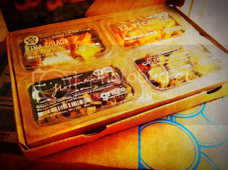 My First Graze Box: 4 Delicious Snacks