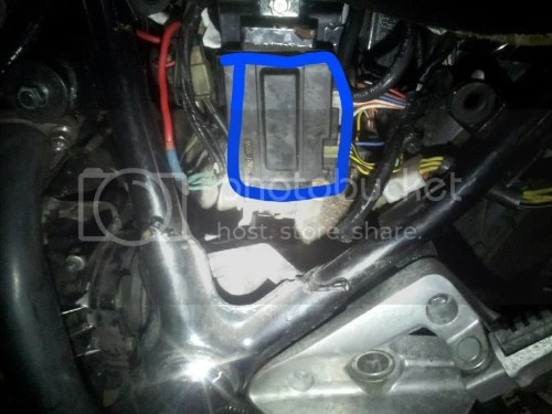 small resolution of blue wire bypass headlight relay mod kawasaki vulcan 750 forum