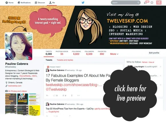 New Twitter Header Size 2014 @ twelveskip.com