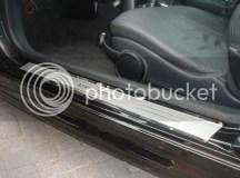 BMW MINI Cooper S Door Sills Polished STEEL Sill Plates on ...
