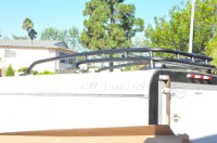 OEM Roof Rack without two crossbars