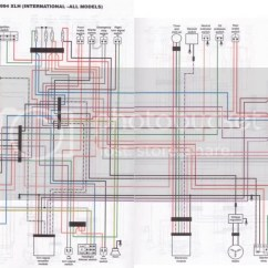 1986 Harley Sportster Wiring Diagram Double Capacitor Single Phase Motor 1998 Harness Diagrams Schematic Davidson Fatboy 1995