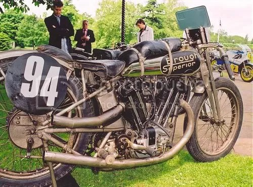 1925 SS100 Pendine racer, guaranteed to havebeen tested at 110mph before delivery.