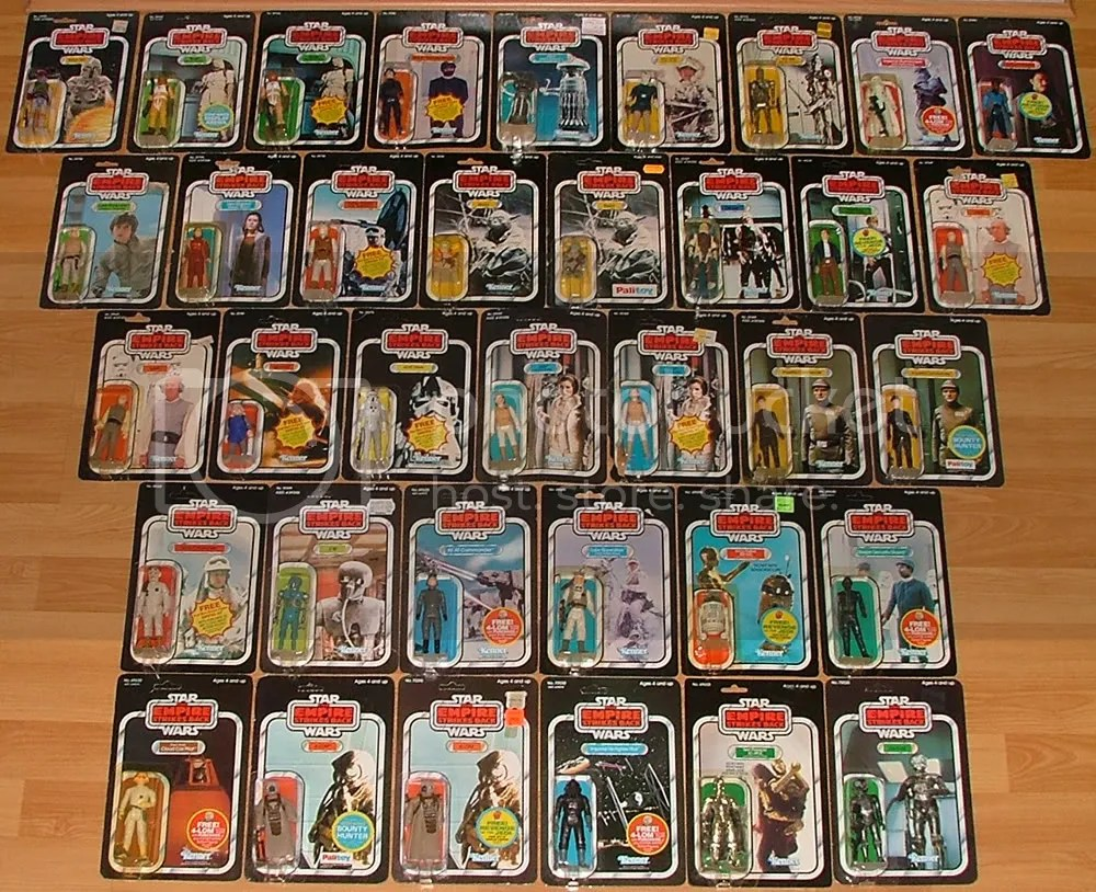 All ESB Characters released on ESB cards.