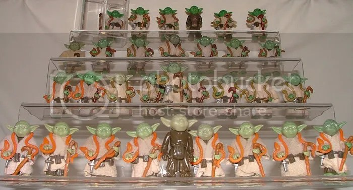 Various Loose Yoda variants
