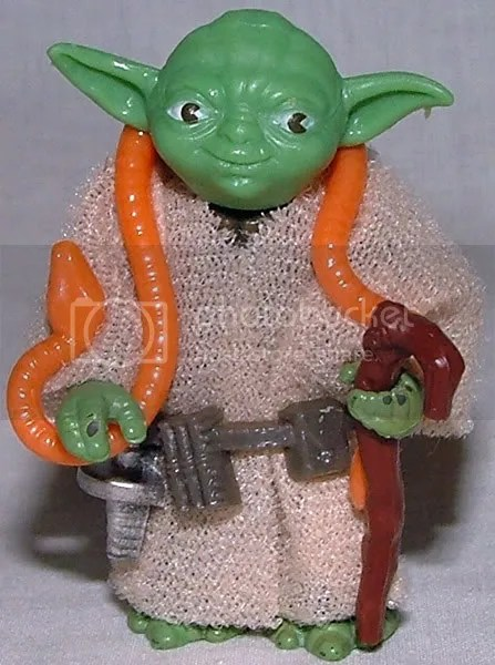 Bright Green, Orange Snake Yoda off 41D cardback.