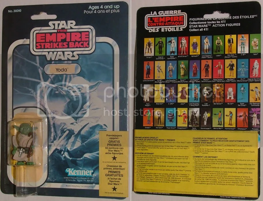 Canadian 41 Back Yoda with Clipper Wraparound Offer (Green Snake)