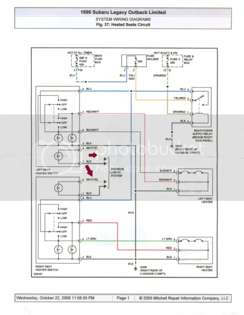 small resolution of heated electric seat wiring diagram