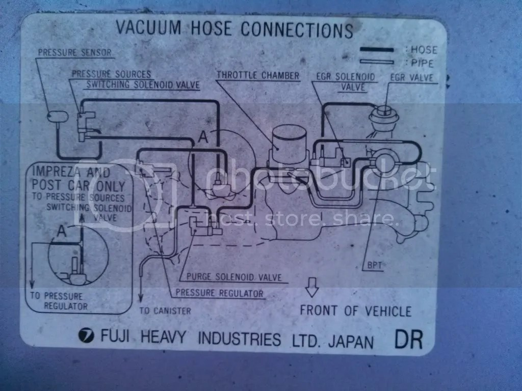 hight resolution of ej25 engine vaccum hose diagram