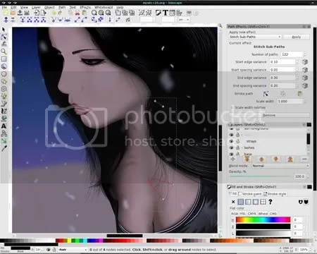 inkscape 12 Software Gratis Pengganti Photoshop