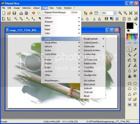 photofiltre 12 Software Gratis Pengganti Photoshop