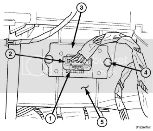 2002 Dodge Durango Blower Resistor Wiring Diagram, 2002