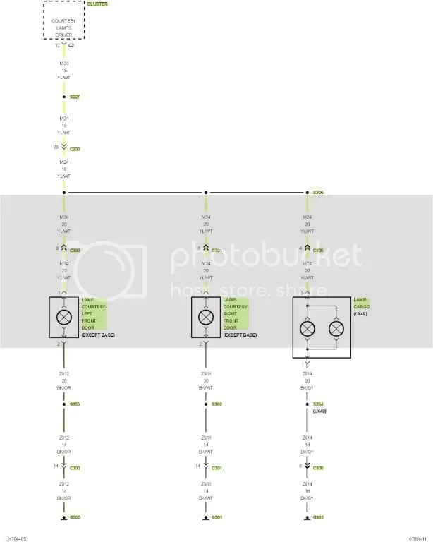 Wiring diagram / schematics for headlights or all