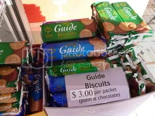 Girl Guide Biscuits in Australia