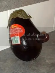 Is that a protusion on your eggplant or are you just happy to see me?
