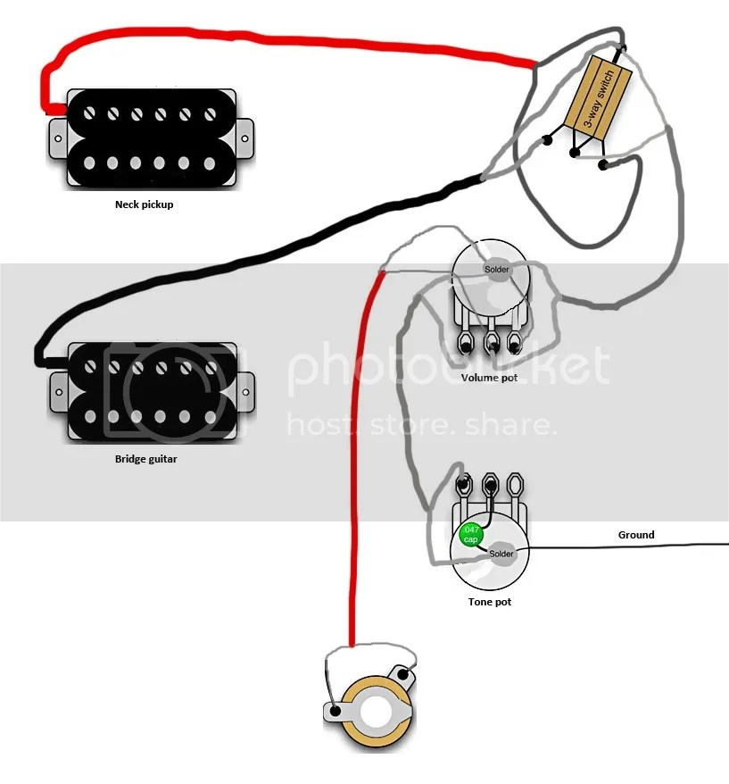 gibson sg p90 wiring diagram 2 wire submersible well pump great installation of very sensitive pots teisco the gear page