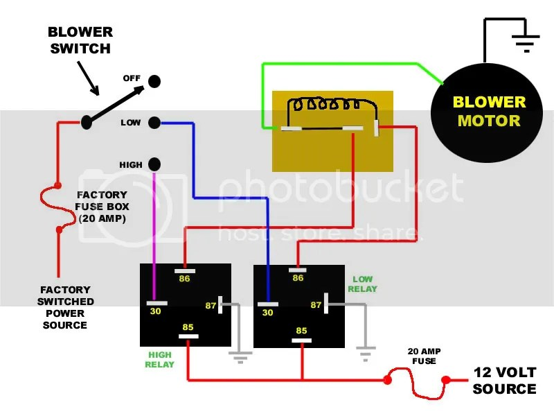 Basic Overload Relay Wiring Diagram Also Dodge Caravan Ac Wiring